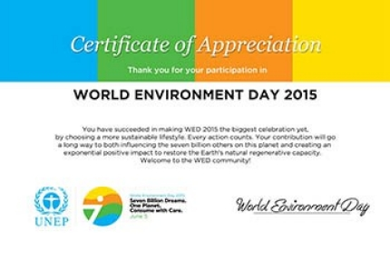 2015-world-environment-day-certificate-of-appreciation